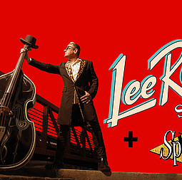 LEE ROCKER (of the Stray Cats) + THE SPUNYBOYS - LEE ROCKER (of the Stray Cats) + THE SPUNYBOYS